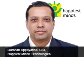 Darshan Appayanna CIO Happiest Minds Technology